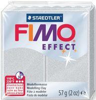 """Глина полимерная """"FIMO Effect"""" (светло-серебристый перламутр; 57 г)"""