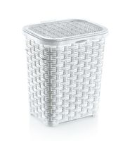 Корзина пластмассовая с крышкой (220х170х260 мм)