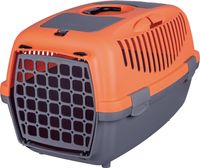 "Переноска для животных ""Traveller Capri II"" (37х34х55 см; серо-оранжевая)"