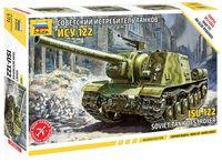 """Сборная модель """"Советский истребитель танков ИСУ-122"""" (масштаб: 1/72)"""