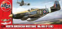 "Истребитель ""North American P-51K/RF Mustang"" (масштаб: 1/24)"