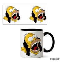 """Кружка """"Симпсоны"""" (497, черная)"""