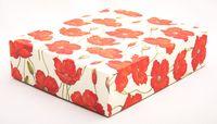 "Подарочная коробка ""Poppies"" (16,5х20х5 см)"