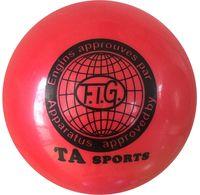 Мяч для художественной гимнастики RGB-101 (15 см; красный)