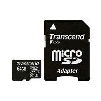 Карта памяти Transcend microSDXC Premium Class 10 64GB + адаптер [TS64GUSDXC10]
