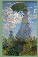 Дама с зонтиком. Блокнот для записей