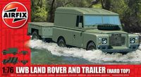 "Набор техники ""LWB Land Rover and Trailer (Hard Top)"" (масштаб: 1/76)"