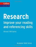 Research. Improve Your Reading and Referencing Skills