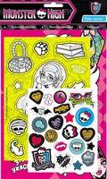 Monster High. Набор наклеек (розовый)