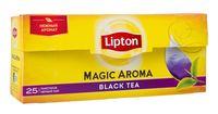 """Чай черный """"Lipton. Magic Aroma"""" (25 пакетиков)"""