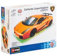 "Модель машины ""Bburago. Kit. Lamborghini Gallardo"" (масштаб: 1/24)"