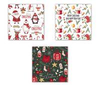 """Набор открыток №21 """"Merry Christmas"""" (3 шт.; арт. 0021)"""
