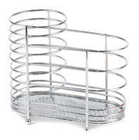 Подставка для столовых приборов металлическая (154х87х136 мм)
