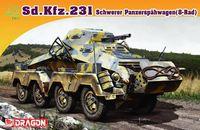 """Тяжелый бронеавтомобиль """"Sd.Kfz.231 Schwerer Panzerspahwagen 8-Rad"""" (масштаб: 1/72)"""