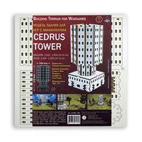 """Сборная модель из дерева """"Cedrus Tower"""""""