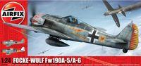 "Истребитель-моноплан ""Focke Wulf Fw-190A-5/A-6"" (масштаб: 1/24)"