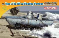 "Плавающий танк ""IJN Type 2 Ka-Mi w/Floating Pontoon Amphibious Tank"" (масштаб: 1/72)"