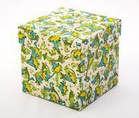 """Подарочная коробка """"Lemons. Florentine Style"""" (11х11х11 см)"""