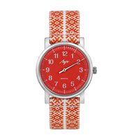 """Часы наручные """"Однострелочник"""" (красные; арт. 71950993)"""