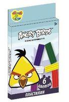 "Пластилин ""Angry birds"" (120 гр, 6 цветов)"