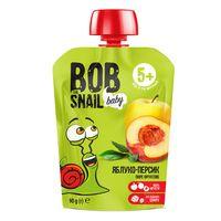 """Пюре детское """"Bob Snail. Яблоко-Персик"""" (90 г)"""