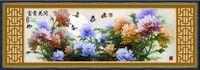 """Алмазная вышивка-мозаика """"Цветы в китайском стиле"""""""