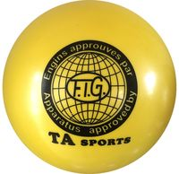 Мяч для художественной гимнастики RGB-101 (19 см; жёлтый)
