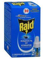 """Жидкость от комаров для электрофумигатора """"Raid. 30 ночей"""""""