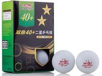 Мячи для настольного тенниса (6 шт.; 2 звезды; белые)