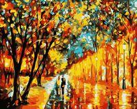 "Картина по номерам ""Вечерняя прогулка"" (400х500 мм)"