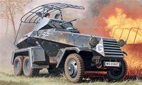 "Бронеавтомобиль ""Sd.Kfz.232 6 Rad"" (масштаб: 1/72)"