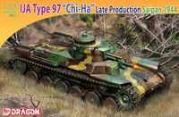 """Средний танк """"IJA Type 97 Chi-Ha Medium Tank"""" (масштаб: 1/72)"""