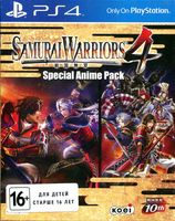 Samurai Warriors 4. Anime Edition (PS4)