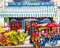 """Картина по номерам """"Лавка флориста"""" (400x500 мм; арт. HB4050294)"""