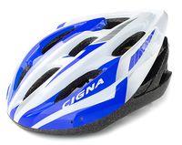 """Шлем велосипедный """"WT-040"""" (чёрный/фиолетовый/белый)"""