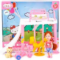 """Игровой набор """"Hello Kitty. Машенька на игровой площадке"""""""
