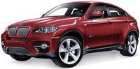 "Модель машины ""Welly. BMW X6"" (масштаб: 1/34-39)"