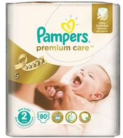 "Подгузники ""Pampers Premium Care Mini"" (3-6 кг, 80 шт)"
