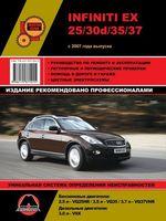 Infiniti EX25 / EX30d / EX35 / EX37 / Nissan Skyline Crossover с 2007 г. Руководство по ремонту и эксплуатации
