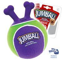 """Игрушка для собак """"Мяч с захватом"""" (18 см; фиолетовый)"""