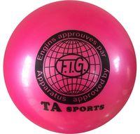 Мяч для художественной гимнастики RGB-101 (19 см; розовый)