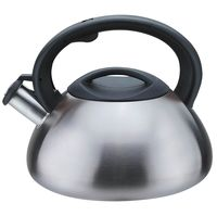 Чайник металлический со свистком (3 л; арт. Mr-1306)