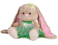 """Мягкая игрушка """"Зайка в зелёном платье"""" (25 см)"""