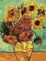 "Картина по номерам ""Подсолнухи Ван Гога"" (400x500 мм)"