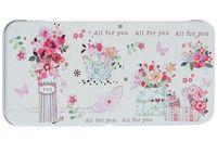 """Подарочная коробочка для денег """"Цветы"""" (арт. 43666)"""