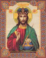 """Вышивка крестом """"Икона Господь Вседержитель"""""""