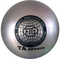Мяч для художественной гимнастики RGB-101 (19 см; серый)