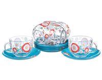 "Набор посуды ""Silene Glass"" (12 предметов)"