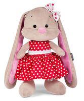 """Мягкая игрушка """"Зайка в красном платье"""" (25 см)"""