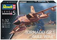"""Сборная модель """"Истребитель-бомбардировщик Tornado GR.1 RAF """"Gulf War"""" (масштаб: 1/32)"""
